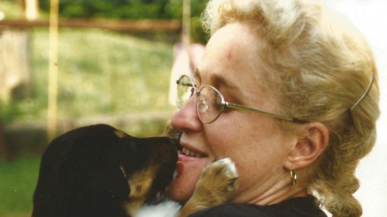 Hundeschule Dresden-Kuscheln mit Rotti