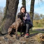 Sophie und Inti in der Hundeschule Bautzen