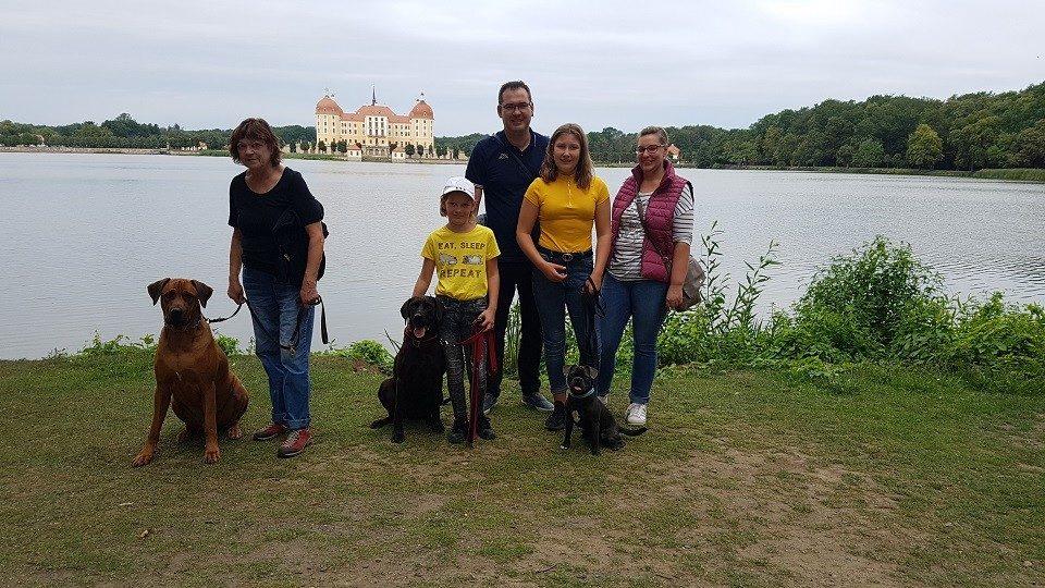 Hundeschule Dresden am Schloss Moritzburg